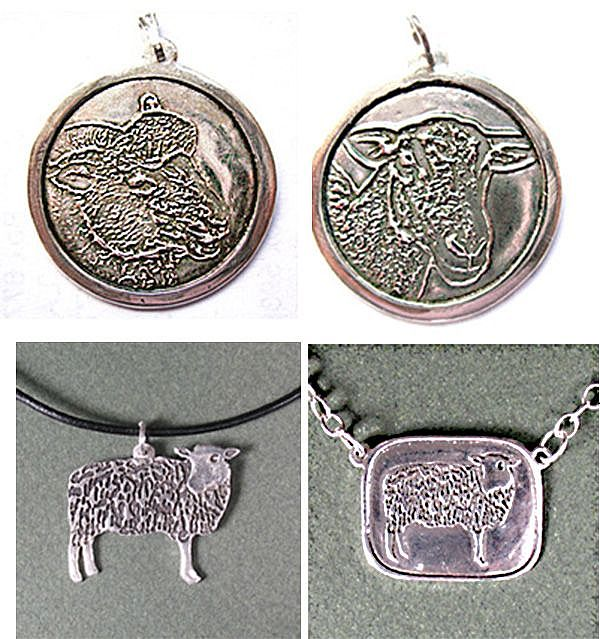 Sheep Necklaces