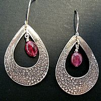 Water LIly Earring - Click for Detail