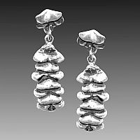 Succulent Earrings - Click for Detail